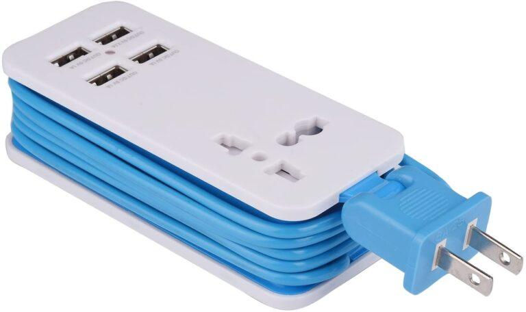 2_4-Port USB_Blue