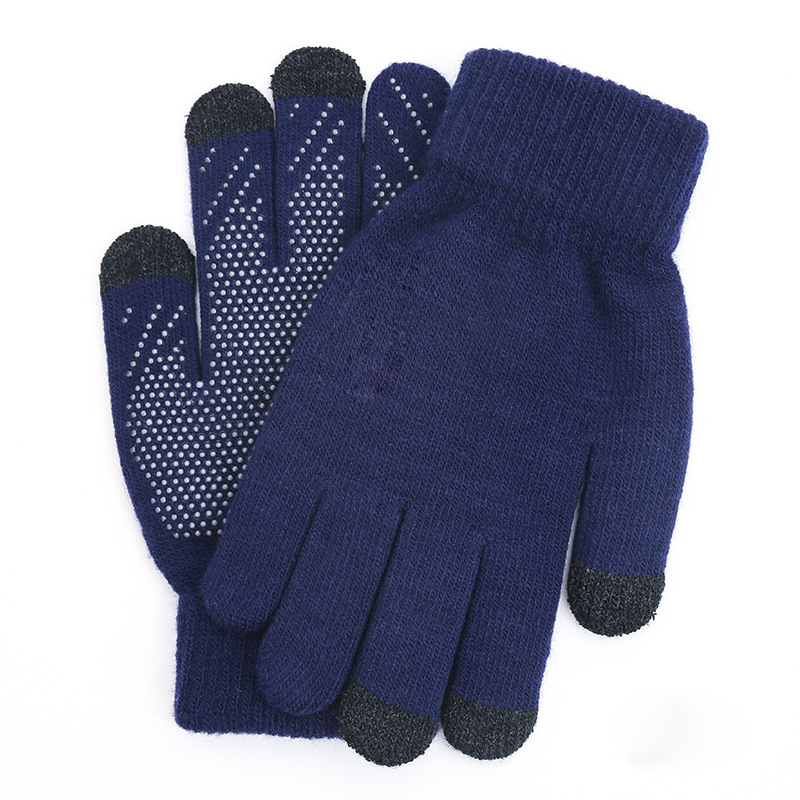 Winter Touch Gloves - Blue
