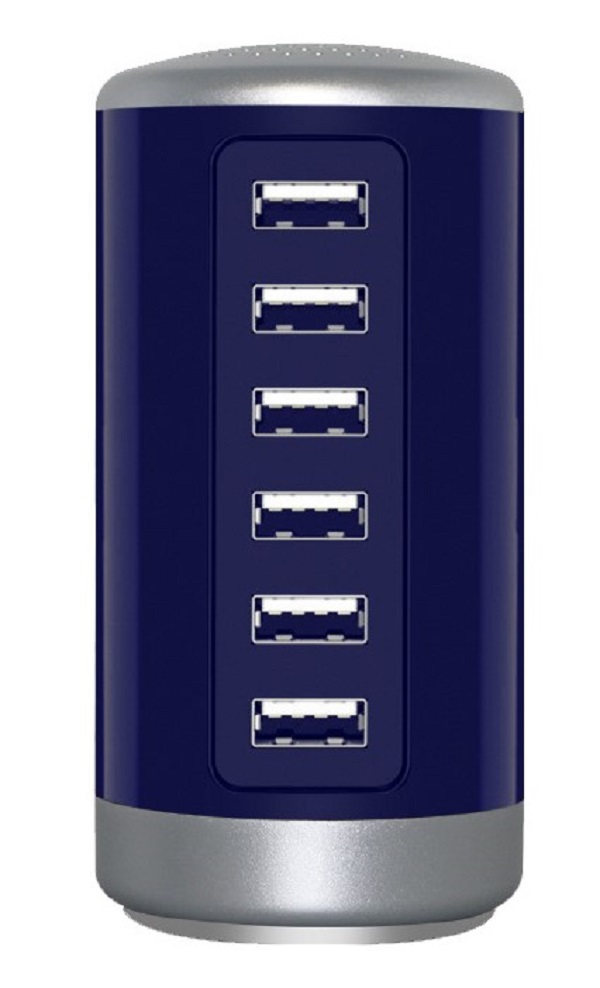 3PX-6USBHUB-BLUE