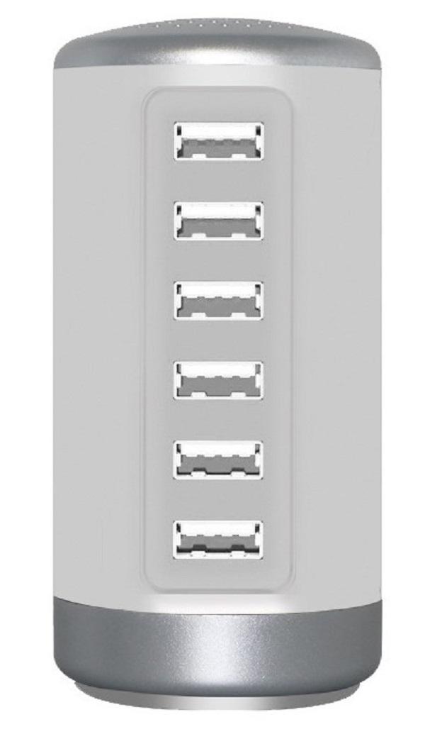 3PX-6USBHUB-White