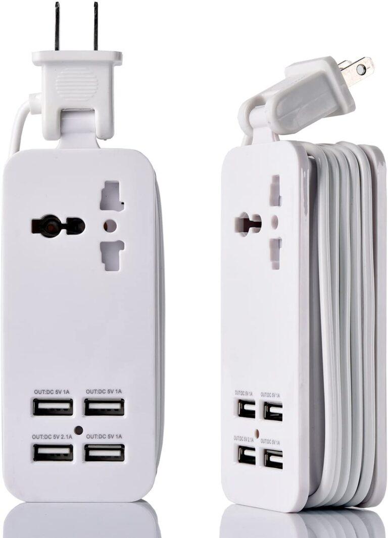 5_4-Port USB_White